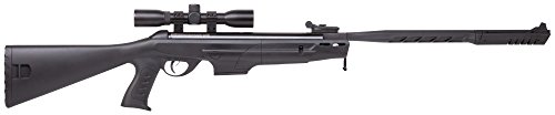 Crosman CDH17TDSS Diamondback Nitro Piston Elite-Powered .177-Caliber Break Barrel Air Rifle With SBD Gold And 4 x 32mm Scope