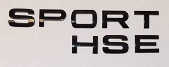 Sport HSE Letters Emblem Sticker Rear Trunk Tailgate Badge Decal for Range Rover