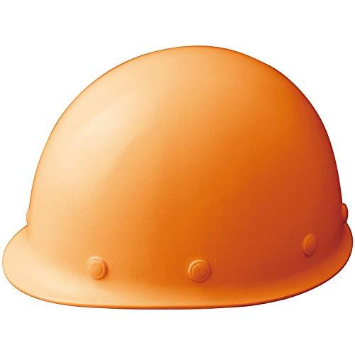 ミドリ安全 ヘルメット 作業用 FRP製 ウインドフロー SCM RA3 UP オレンジ