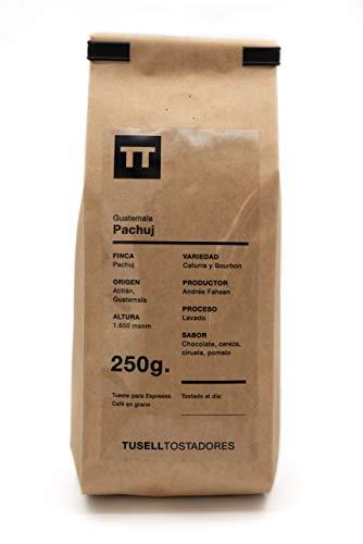 Cafe en grano natural 250g - Espresso - Finca Pachuj - Guatemala - Tusell Tostadores