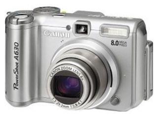 Canon PowerShot A630 Digitalkamera (8 MP)