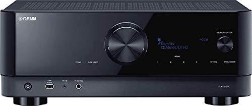 Yamaha RX-V6A Sintoamplificatore AV - Con 7.2 Canali, Dolby Atmos Height Virtualizer, Funzioni Specifiche per il Gaming e Sistemi di Controllo Vocale, Versatile, Nero