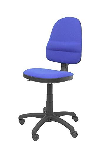 Piqueras y Crespo Herrera krzesło biurowe ze stałym kontaktem, niebieskie