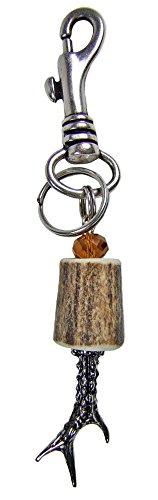 Trachten Schlüsselanhänger mit Geweih - Schönes Geschenk für Herren und Tachtenliebhaber