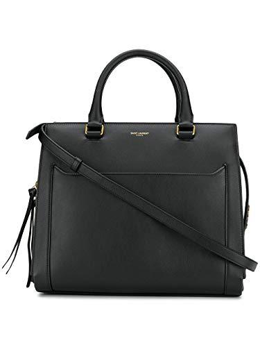 Saint Laurent Luxury Fashion Damen 55381800Y0W1000 Schwarz Leder Handtaschen | Herbst Winter 19