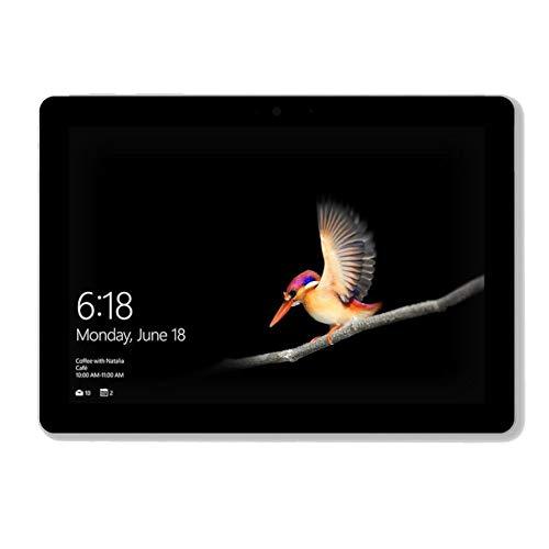"""Pack Microsoft GO (10"""", 8Go RAM 128 Go SSD windows 10) avec clavier, stylet et souris de couleur platine"""