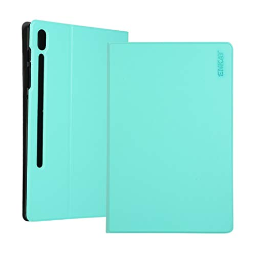 BANAZ Caja del teléfono del Cuero del tirón de la Caja Horizontal con Soporte for Samsung Galaxy Tab 10.5 S6 T860 / T865 st (Color : Green)