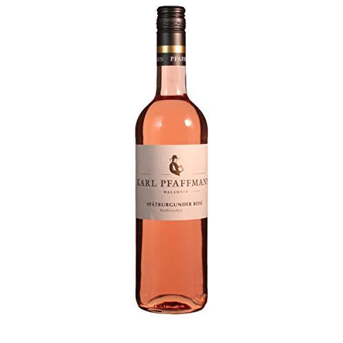 Karl Pfaffmann 2019 Spätburgunder Rosé halbtrocken (23) Qualitätswein 0.75 Liter