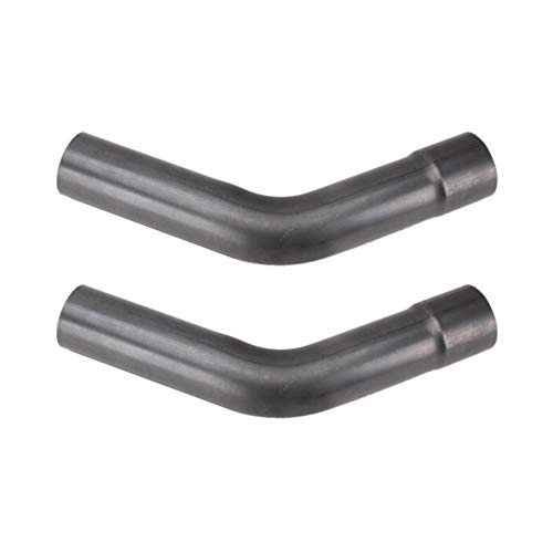 Steel Mandrel Bend Exhaust Pipe, 45 Degree, Pair, 3 Inch O.D.