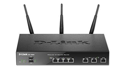 D-Link Wireless Dual WAN 4-Port Gigabit VPN Router with 802.11ac (DSR-1000AC)