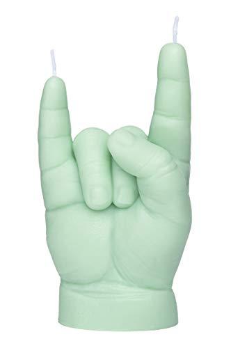 CandleHand Vela de gesto de mano para bebé You Rock, hecha a mano, tamaño real, 6 x 4 x 11 cm, regalo de cumpleaños, baby shower, papá to be