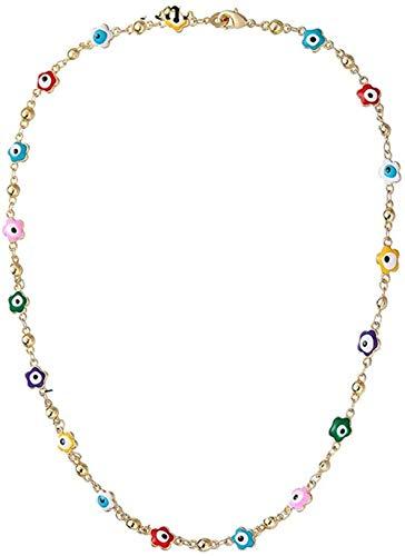 quanjiafu Collar Collares con Colgante De Cruz De Color Dorado A La Moda, Cruces Etíopes, Joyería Religiosa, Regalos