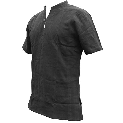 Fisherman Shirt BEN,black, XL, shortsleeve