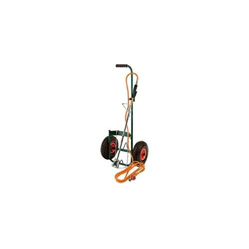 Ribiland - proxkit1 - Kit desherbeur thermique avec chariot roues gonflables