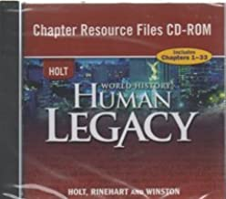 Holt World Human Legacy Modern Era Chapter Resources Files on CD ROM