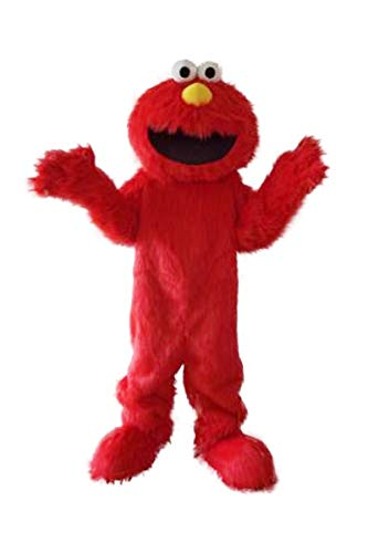Super Sesame Street Cute Red Elmo Monster Mascot Costumes adult olaf mascot costume