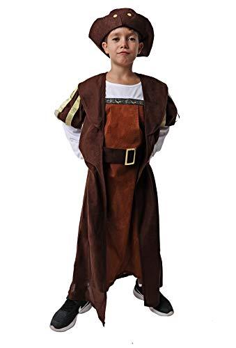 Costumizate! Disfraz deCristobal Colon Talla 5-6 Especial para niños Fiestas de Disfraces o Carnaval