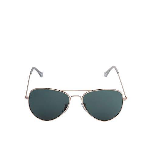 Jack & Jones JACRYDER Sunglasses Noos Gafas, Bright Gold/Detail:j1775-00, Talla única para Hombre