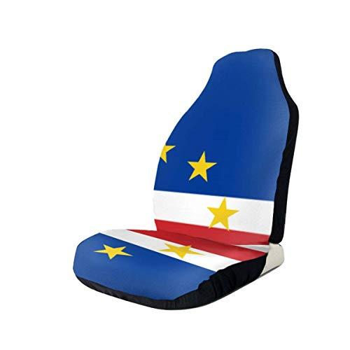 Vlag van Kaapverdië autostoelhoezen beschermers voor de meeste auto's