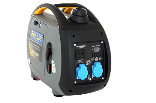 Pro-Lift-Gereedschappen Inverter Stroomgenerator 1000W Digital Generator 230V 4-takt benzinemotor Stroomgenerator noodstroomaggregaat omvormer stroom
