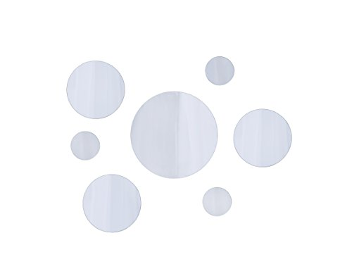 Elements Round Wall-Mount Mirror, Set of 7, Assorted Sizes - -