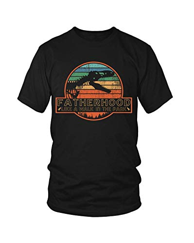 DGshirt Hombre's Fatherhood Like A Walk in The Park T-Shirt Father's Day