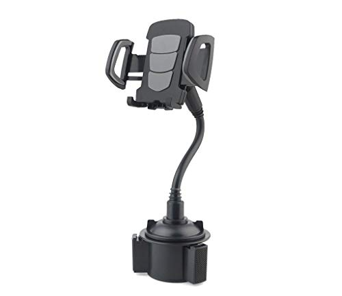 2020 Handyhalterung 360° Drehung Handy Halter Verstellbarer KFZ Halterung Starker Saugnapf Handyhalter mit Anti-Rutsch-Basis Handyhalterung für Auto Armaturenbrett/Windschutzscheiben (Schwarz)