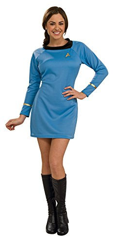 Rubie's Women's Star Trek Classic Deluxe Dress, Blue, Medium