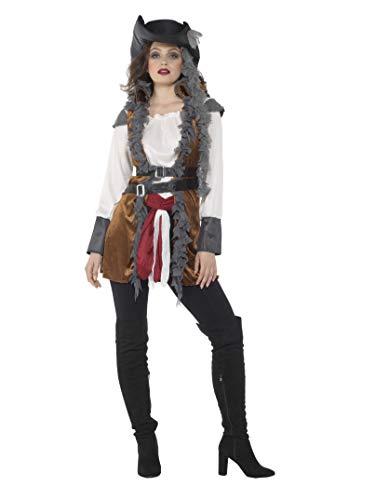 KARNIVAL COSTUMES Déguisement Pirate avec Gilet Femme - L