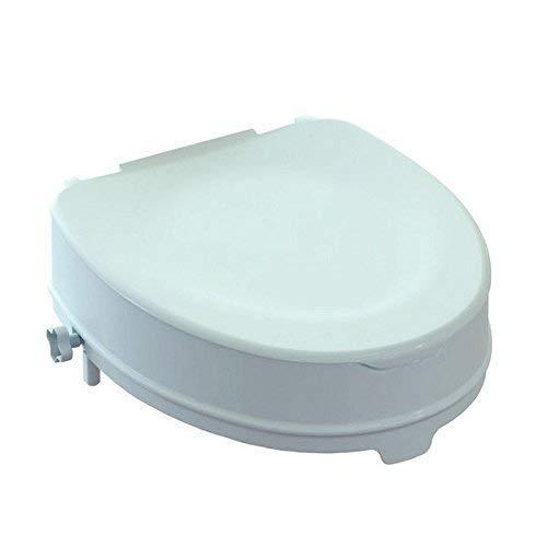 Rialzo WC, AlzaWater Anatomico con Sistema di Fissaggio...