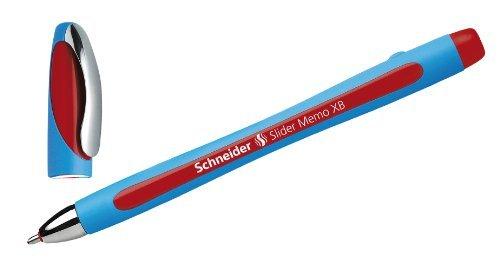 Schneider Kugelschreiber Slider MEMO XB rot