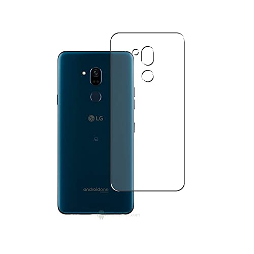 Vaxson 2-Pack Back Protector Film, compatible with LG X5 ANDROID ONE, TPU Guard Cover Skin [Not Tempered Glass/Not Front Screen Protectors]