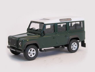 Cararama Land Rover Defender 110 Druckguss Modell Auto