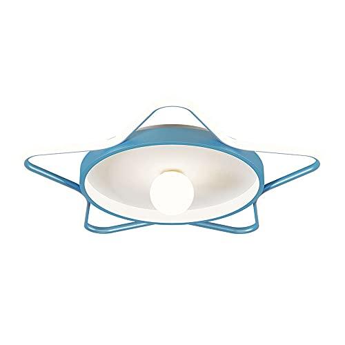 YHQSYKS Luz de Techo LED para habitación de niños Estrellas Creativas Luz de Techo de Montaje Empotrado Estudio Cerca del Techo Lámparas para Luces de Dormitorio de jardín de Infantes