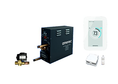 Best Review Of Amerec AX 14 KW Steam Bath Generator with A6 Touch Screen Control - Steam Head - Auto...