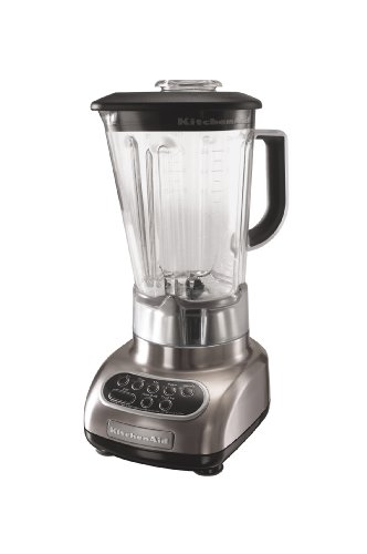 KitchenAid KSB580NK Custom Metallic 5-Speed Blender, Brushed Nickel Nebraska