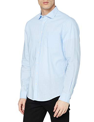Redford Nizza Freizeithemd, Blau 13), Kragenweite: 42 cm (L)