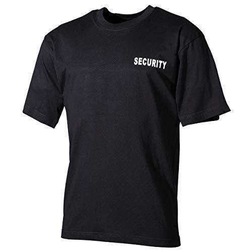 MFH US Army T-Shirt Security Wachschutz Shirt Fasching Kurzarm Rundhals Herrenshirt (M)