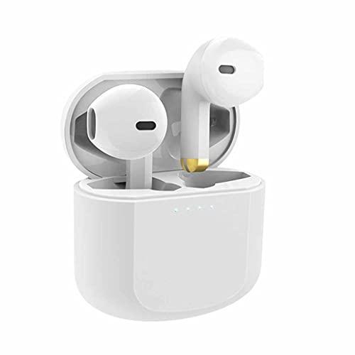 YUTRD ZCJUX Auriculares Bluetooth Auriculares inalámbricos Bluetooth In-EUR para Todos los Auriculares Deportivos de teléfonos Inteligentes con micrófono (Color : B)
