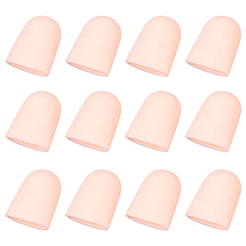 Beaupretty 10 Pares de Protectores de Dedos Protectores de Dedos Protectores de Dedos de Látex para Reparación Electrónica Hospatil Hecho a Mano