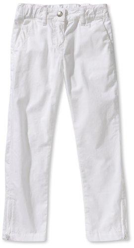 Strenesse Kids Mädchen Hose 63117, Gr. 116, Weiß (001 White)