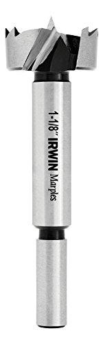 IRWIN Marples Forstner Bit, Wood Drilling, 1-1/8-Inch (1966931)