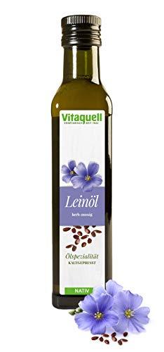 Vitaquell Lein-Öl kaltgepresst, nativ 250 ml
