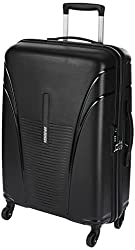 American Tourister Ivy Polypropylene 68 cms Black Hardsided Check-in Luggage (FO1 (0) 09 002),Samsonite,FO1 (0) 09 002