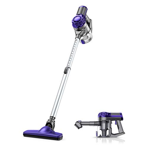 APOSEN Cordless Vacuum Cleaner, 18KPA Strong Suction 4 in 1 Lightweight Detachable Battery Stick Vacuum Cleaner for Home Hard Floor Car Pet Cleaning H10S