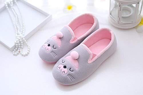 B/H Slipper Interiores y Exteriores,Bolsa de Maternidad Impermeable Antideslizante de Suela Blanda con Zapatos de Mes engrosados-B_37
