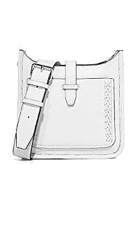 Rebecca Minkoff Women s Mini Unlined Feed Bag Optic White One Size