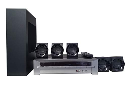 Blackweb BWA18SB003 1000-watt 5.1 Channel Receiver Home Theater System with Bluetooth