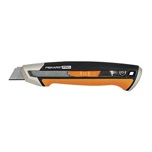 Fiskars 770210-1001 Pro Utility Knife, Snap 18 mm, Orange/Black