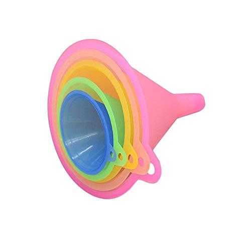 JieGuanG Colors Imbuto, imbuti da Cucina 5 Colori Arcobaleno - 67 mm, 83 mm, 98 mm, 110 mm e 125 mm